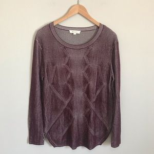 Two by Vince Camuto Textured Sweater! Size M!